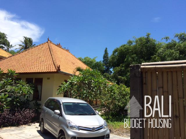 Bali beach near ubud