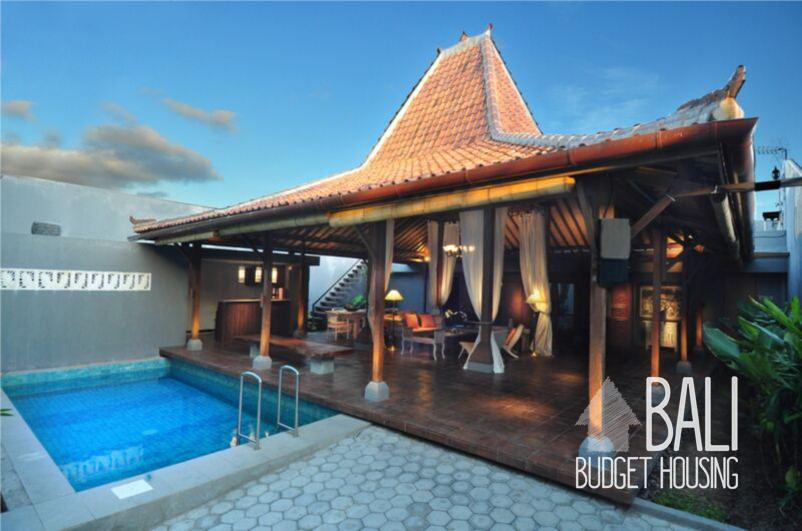 D Lima Joglo Villa For Rent In Kuta Bali Long Term Rentals Houses And Apartments In Bali Budget Housing