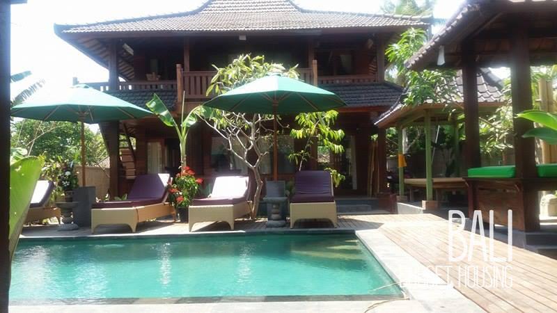 cheap Bali accommodation - homestay in ubud