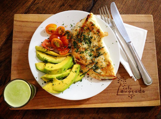 Breakfast in Canggu - Avocado Cafe 2